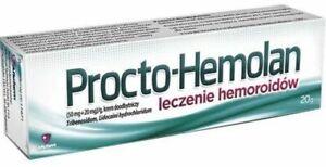 PROCTO-HEMOLAN CREAM, hemorrhoids treatment, 20g
