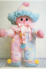 Rag Doll Clown Toy Sewing Pattern