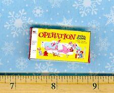 Dollhouse Miniature Size Board Game OPERATION Box