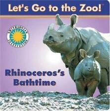 Rhinoceros's Bathtime Let's Go To The Zoo!