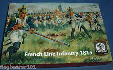 WATERLOO 1815 AP056 FRENCH LINE INFANTRY 1815. 1/72 SCALE c.58 FIGURES