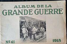 Album imprimé en  photographié en noir et blanc en édition allemand N°41 1918 A5