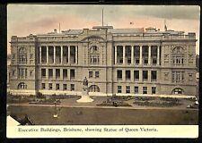Postcard AUSTRALIA  Queensland, Brisbane Executive Buildings Queen Victoria