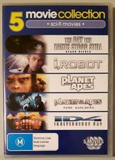 The Day The Earth Stood Still / I, Robot / Planet Of The Apes / Independence Day