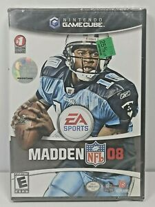 NIB Madden NFL 08 (Nintendo GameCube, 2007) Scott the Woz HOLY GRAIL SEALED