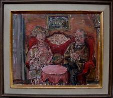 "Olle Nordberg 1905-1985, ""hogar al patron"", fechado en 1960"