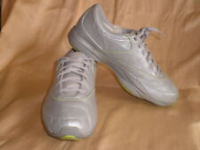 Reebok Easytone Sneakers Walking Shoes Women Silver Yellow Gray SF SUNSAA 8.5 39