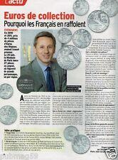 Coupure de Presse Clipping 2012 (1 page) Euros De Collection Monnaie de Paris