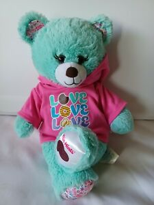 """Build a Bear Girl Scouts Thin Mints 16"""" Plush Cookie Teddy W/ Cookie Love Outfit"""