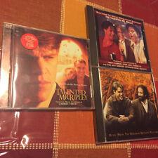 The Talented Mr. Ripley Music from Motion Picture Cd + Two Bonus Cd's Matt Damon