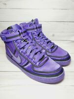 Nike Vandal High QS Supreme Purple Men's Basketball Shoes AQ2176-500 Size 11