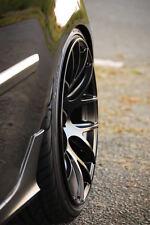 "18"" Miro 111 Black Wheels 18X8.5 +35 / 18x9.5 +40 5x112 Staggered Rims Set (4)"