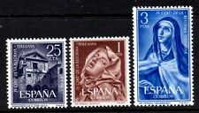 (Ref-9831) Spain 1962 4th Centenary Teresian Reformation SG.1489/1491 Mint (MNH)