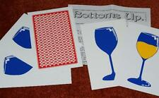 Bottoms Up -- jumbo size monte packet effect using pics of wine glasses     TMGS