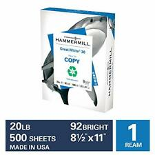 Printer Paper Office Multipurpose Sheets 8.5 x 11 Letter Size Computer White USA