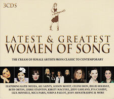 [NEW] 3CD: LATEST & GREATEST WOMEN OF SONG: VARIOUS ARTISTS