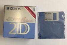 Sony MFD 2DD 3.5 INCH MICRO FLOPPY DISK DOUBLE DENSITY 10 PACK 1MB NEW