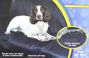 Car Rear Back Seat Cover Universal Waterproof Pet Dog Cat Protector Easy Fit UK