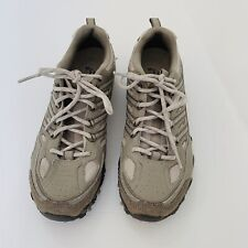 Skechers Womens Size 7.5 Outdoor Lifestyle Suede Leather Gray Sneakers