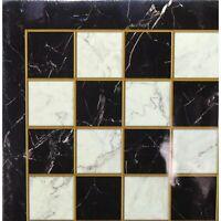 WorldWise Imports Black Marble Decoupage Brd