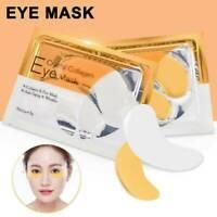 2Pcs Collagen Eye Mask Under Eye Patch Gel Pad Anti-Wrinkle D7J9 Bag Set C3T4
