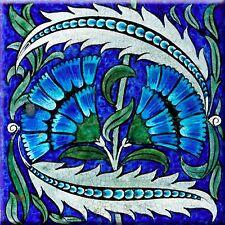 Decorative Ceramic tile 4.25 X 4.24 inch, Illustration william de Morgan #4
