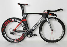 STRADALLI CARBON TRI TRIATHLON TIME TRIAL BIKE SHIMANO DURA ACE 9000 11 SPEED L