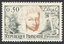France 1962 Blaise Pascal/Mathematics/Physics/Science/People 1v (n40725)