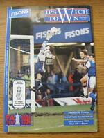 18/01/1994 Ipswich Town v Swindon Town [FA Cup Replay] (No Apparent Faults)