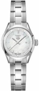 MOTHER'S DAY SALE TAG HEUER LADY CARRERA WV1415.BA0793 PEARL QUARTZ LUXURY WATCH