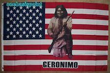3X5 Usa Geronimo Flag Old Glory Star Spangled Banner Native American Indian Us