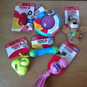 Kong  PUPPY Dog Toys Large Bundle. PINK NEW 6 Items
