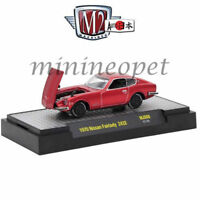 GREENLIGHT 41010 E 1971 71 DODGE CHARGER STP 1//64 DIECAST MODEL CAR RED