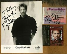 Gary Puckett Signed 8x10 Photo / Ticket Stub / Cassette Cover - The Union Gap
