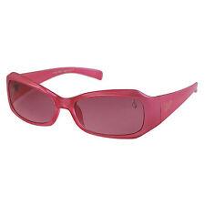 Lunettes de soleil rose plastiques pour femme 100% UV