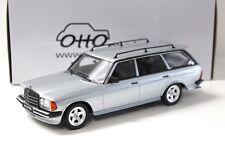 1:18 Otto Mercedes 280te s123 AMG Silver 1982 NEW in Premium-modelcars