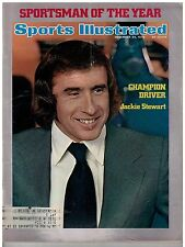Dec 24 1973 issue of Sports Illustrated race Car Driver Jackie Stewart