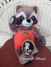 Build-A-Bear ROCKET RACCOON - MARVEL GUARDIANS of GALAXY Plush Stuffed Animal