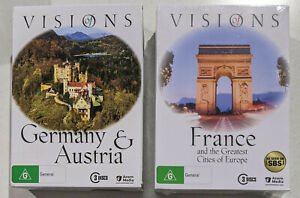 Visions of Germany, Austria, France and The Great Cities of Europe (6 DVD)