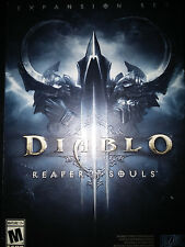 Diablo III (3): Reaper of Souls Game |BRAND NEW FACTORY SEALED PC MAC Blizzard
