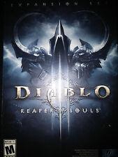 Diablo III (3): Reaper of Souls Game  BRAND NEW FACTORY SEALED PC MAC Blizzard