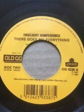 "ENGELBERT HUMPERDINCK 7"" RELEASE ME / THERE GOES MY EVERYTHING - OLD GOLD OG9338"