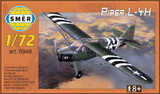 NEW! Piper L-4H Cub in USAAF D-Day, Army (1/72 model kit, Smer 0948)