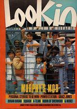 Look-In Magazine 30 November 1985  Power Station  Martina Le Moignan Grace Jones