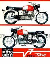 Moto Guzzi V7 700 cc Twin  Poster 1967 print reprint ca 8 x 10 print poster