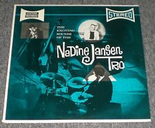 The Exciting Sounds Of The Nadine Jansen Trio~RARE Private Lounge Jazz~FAST SHIP