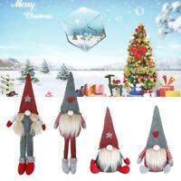 Plush Gnome Doll Ornaments Swedish Christmas Santa Figurine Xmas Holiday Decor