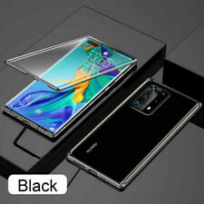 Case for Huawei P30 P40 Pro Lite 360° Full Glass Clear Magnetic Phone Cover