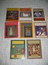 8 Wool Street Journal Magazine Rug Hooking Dyeing Patterns Primitive Folk Art