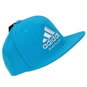 Adidas Dsv Biathlon Children Baseball Cap Boys Girls Cap 52/54/56 Blue